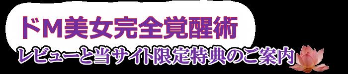 ドM美女完全覚醒術 ロゴ